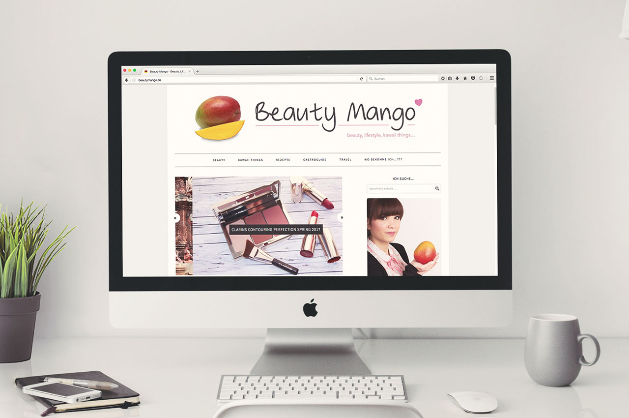 Beautymango - Webdesign