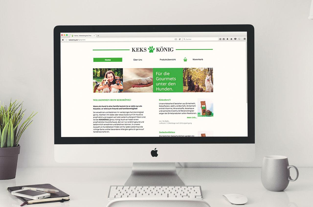 Kekskönig - Webdesign
