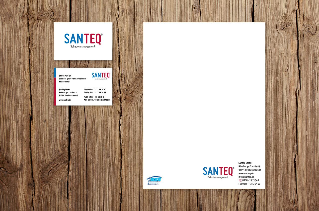 Santeq - Geschäftsausstattung