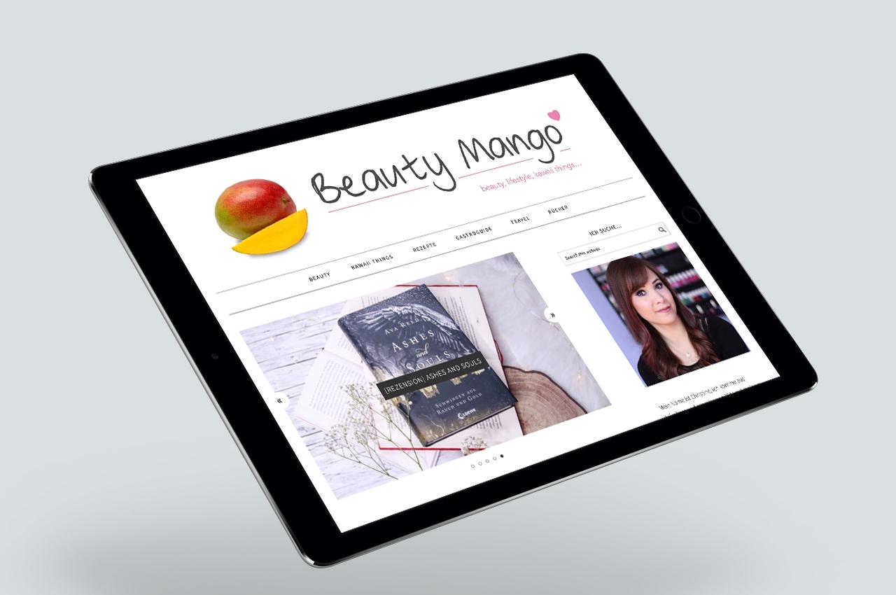 Webseite Beauty Mango